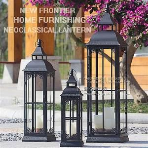 Image Gallery large outdoor floor lantern