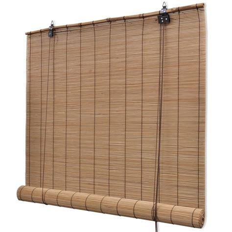 magasin cuisine allemagne la boutique en ligne store enrouleur bambou brun 120 x 160 cm vidaxl fr