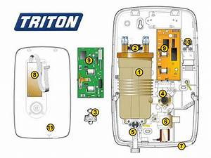 Shower Spares For Triton Opal