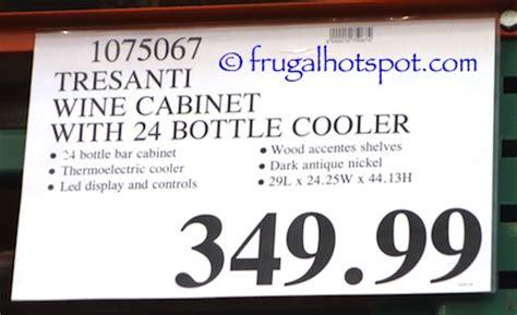 costco tresanti 24 bottle wine cooler with granite top