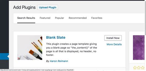 Wordpress Wp Admin Blank Page After Update
