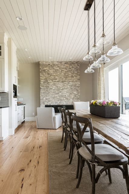 dining room interior  sherwin williams agreeable gray