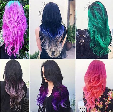 Black Hair Dye Types by 20 Hair Color Styles The Hair Dye Choice From