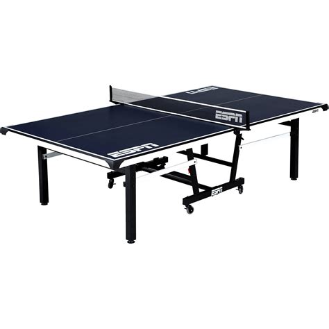 Tisch Neu Bekleben by Espn Ping Pong Official Size Table Tennis Table With Table