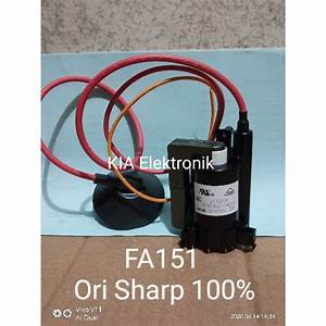 Flyback Playback Fbt Transformer Tv Sharp Slim