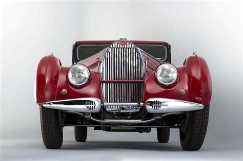 The third and final was destroyed in a train accident in the 1950s. 1938 Bugatti Type 57C coupé Atalante