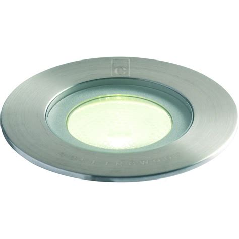 in ground led light fixtures collingwood lighting gl016 f white stainless steel led