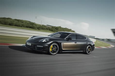 porsche sedan 2015 2015 porsche panamera exclusive series front three quarter