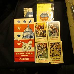 U0026quot 1968 Senators Guide Book And 1969  U0026 70 Stickers  And A