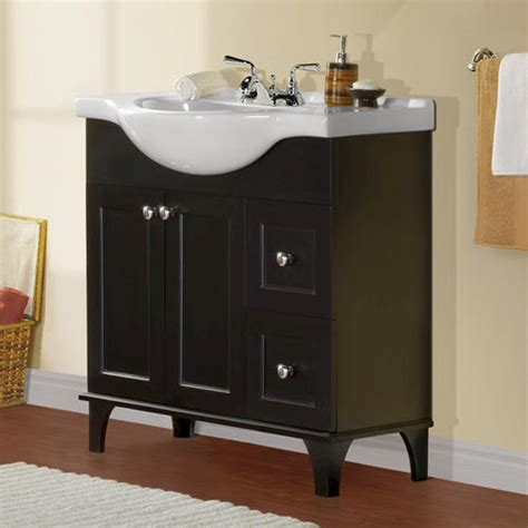 Menards Bathroom Sink Base by Magick Woods 34 Quot Concord Collection Vanity Ensemble At