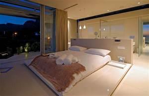 Modernes Schlafzimmer Einrichten : luxus schlafzimmer 32 ideen zur inspiration ~ Michelbontemps.com Haus und Dekorationen