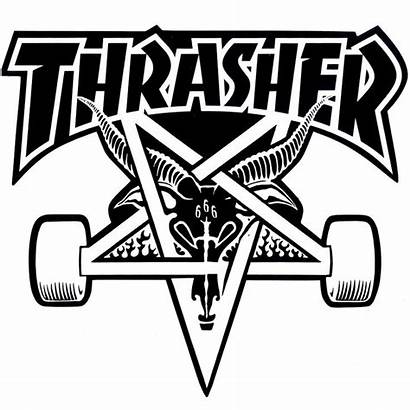 Thrasher Goat Stickers Skateboard Skate Magazine Buscar