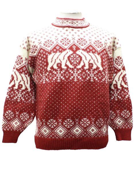 eighties skaeveland  norway sweater  vintage