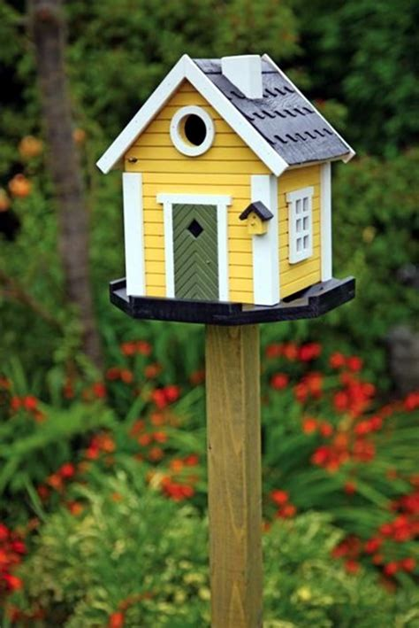 beautiful bird house designs   fall  love  bored art