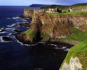 Dunluce Castle, Co Antrim, Ireland Photograph by The