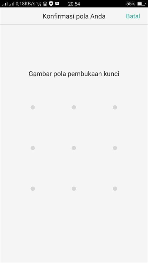 Cara membuka kunci pola Oppo A83 | Phone Tekno