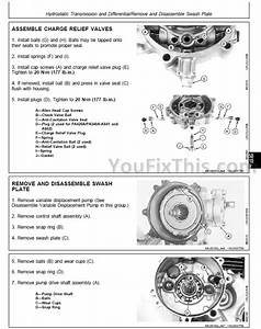 John Deere F510 F525 Repair Manual  Front Mower   U00ab Youfixthis