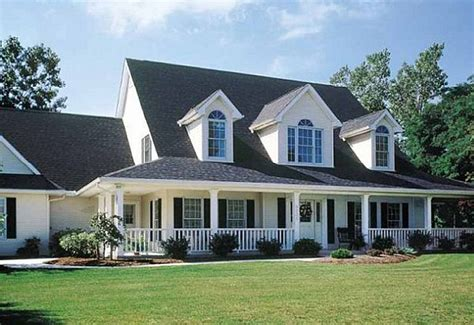 front dormers farmers porch house plans pinterest cape dream house porches