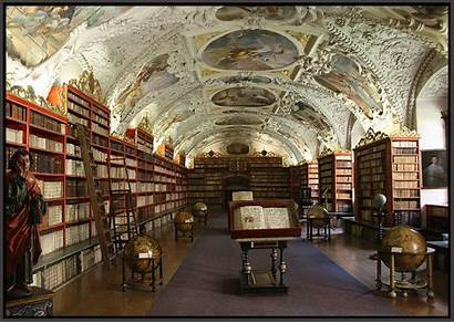 Libraries Library Hall Strahov Prague Theological Monestary
