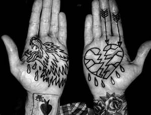 40 Broken Heart Tattoo Designs For Men - Split Ink Ideas