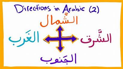 Arabic Directions Transparent Language