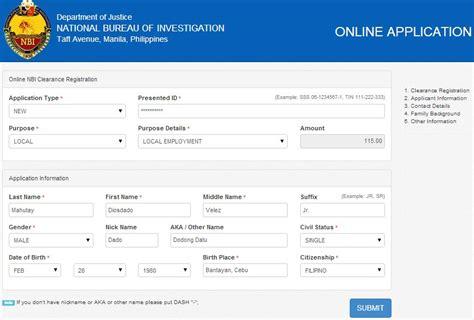 us bureau of justice nbi clearance procedure how to apply 2014