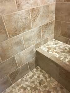 1000 images about bathroom pebble tile and tile ideas on rivers remember