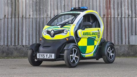 This is a Renault Twizy ambulance | Top Gear