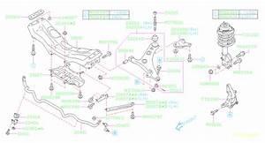2015 Subaru Forester Suspension Stabilizer Bar Bracket