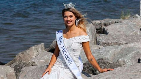 Miss Michigan calls out Flint water issue - CNN