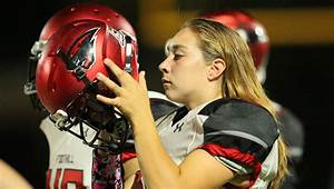 Foothill High School U0026 39 S First Female Linebacker Tackles