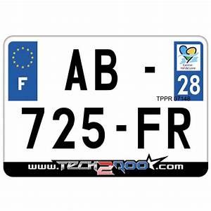 Numéro De Plaque D Immatriculation : plaque d 39 immatriculation moto et scooter plexi homologu e en 210x145 tech2roo ~ Maxctalentgroup.com Avis de Voitures