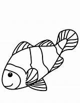 Fish Coloring Pages Sea sketch template