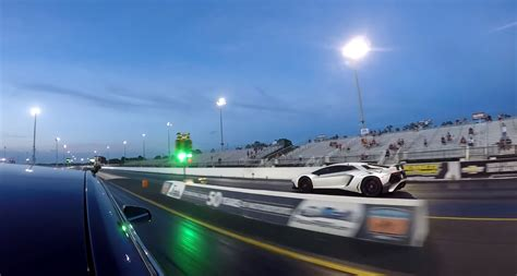 Tesla Model X P100d Sets World Record Run Against Lambo