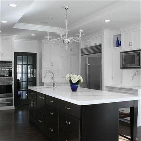 7 kitchen island white kitchen cabinets with espresso island transitional