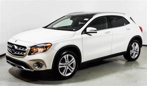 Perhaps the gla doesn't say suv loudly enough for consumers to hear. 2018 Mercedes-Benz GLA 250 4MATIC SUV | Cirrus White U15425