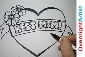 Draw Best Mom - How To Draw Best Mom -Graffiti Bubble ...