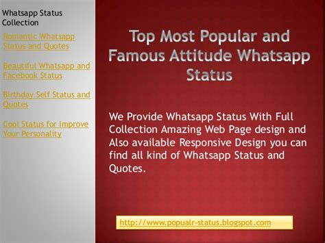 top most popular attitude whatsapp status with collection