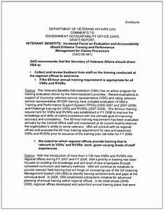 va nexus letter template - 28 images of veteran administration performance work