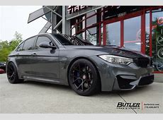 BMW M3 with 19in BC Forged RS41 Wheels exclusively from