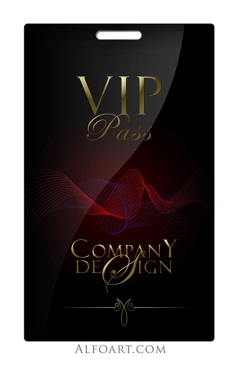 vip pass tutorial on how to make and glossy black vip pass with gold letters and stylish logo