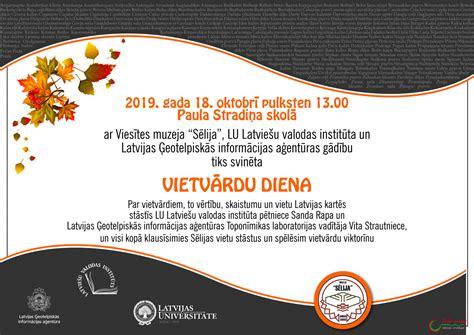 Drīzumā notiks otrā Latvijas pagastu Vietvārdu diena