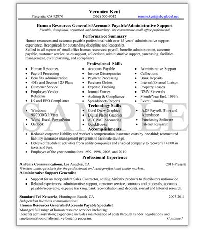 Professional Sle Resume by Knock Em Dead Professional Resume Writing Services