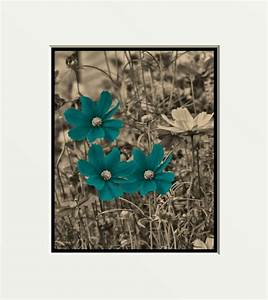 blue and brown framed art art brown art red blue teal With teal wall decor