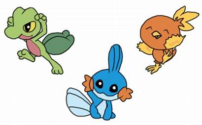 Pokemon Starters Generation 3rd Deviantart