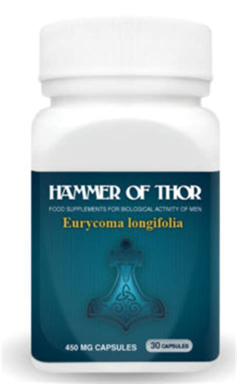 Hammer Of Thor Sex Food Supplement Capsule for Men Price