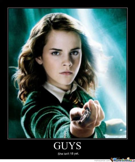 Hermione Meme - demotivational hermione by hermione granger meme center