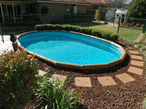 simple pools simple pool landscaping ideas