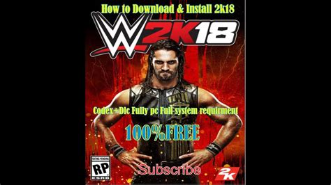 This series is updated every year, though before this game was released exclusively for consoles. How to Download & install wwe 2k18-codex + dlc fully Free For Pc - YouTube