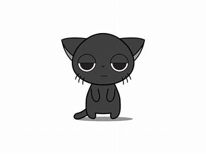 Chibi Animated Kitten Bee Happy Cat Animation